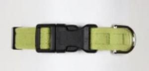 quick release plain dog collar