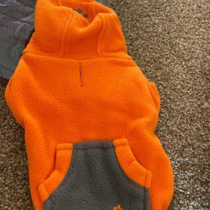 clearance fou-lar fleece dog hoodie
