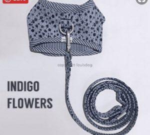 Indigo Harness Set by Louisdog