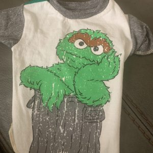 oscar the grouch vintage tee