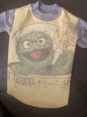 oscar the grouch vintage tee