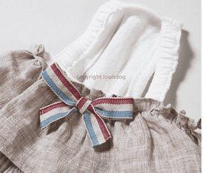linen dress by louisdog
