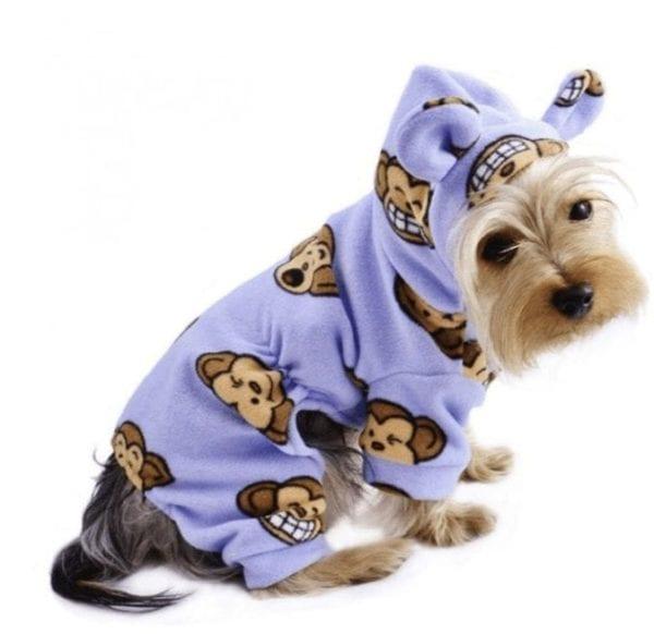 silly monkey pajamas