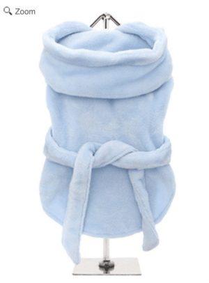 bathrobe by urban pup in blue