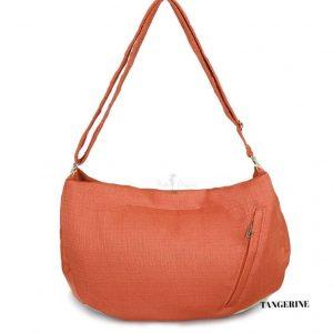 Tangerine Vienna Luxury Messenger Sling