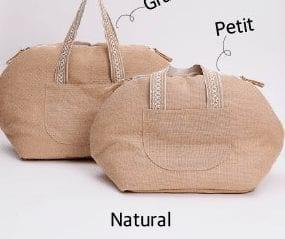 linen carrier bag