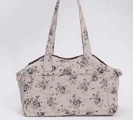 linen shoulder carrier bag