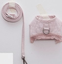 linen harness by louis dog