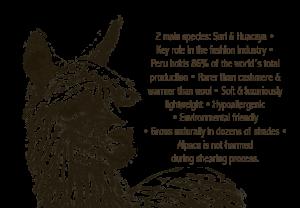 alpaca fabric details