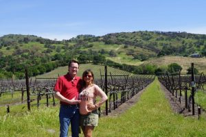 Cheri and Jason in Wine Country