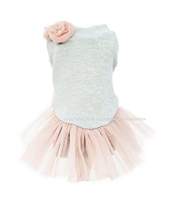 pink tutu babyboomer dress