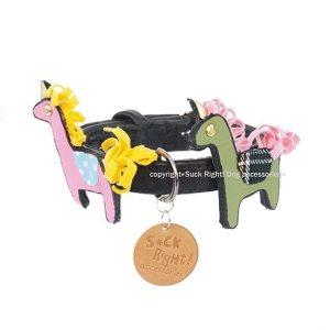 designer collars hermes ponies
