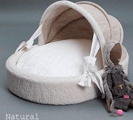 Irish Linen Cradle by Louis Dog