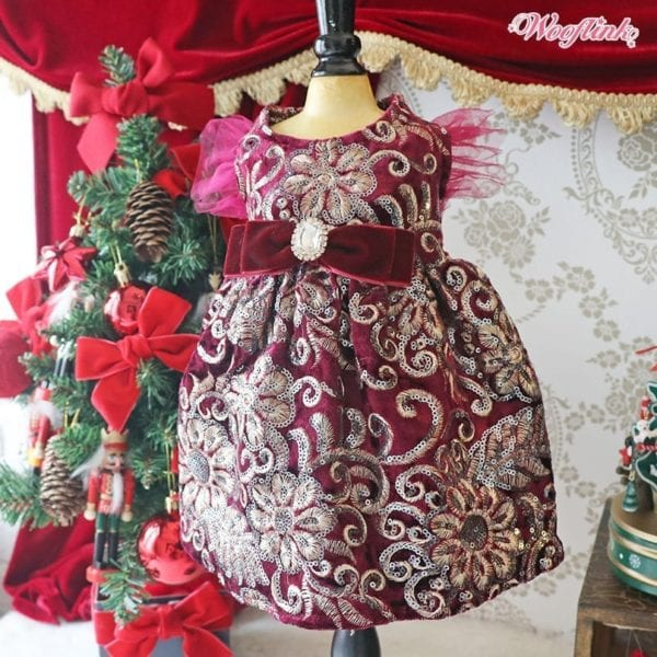 Almost Famous Holiday Dress by Wooflink