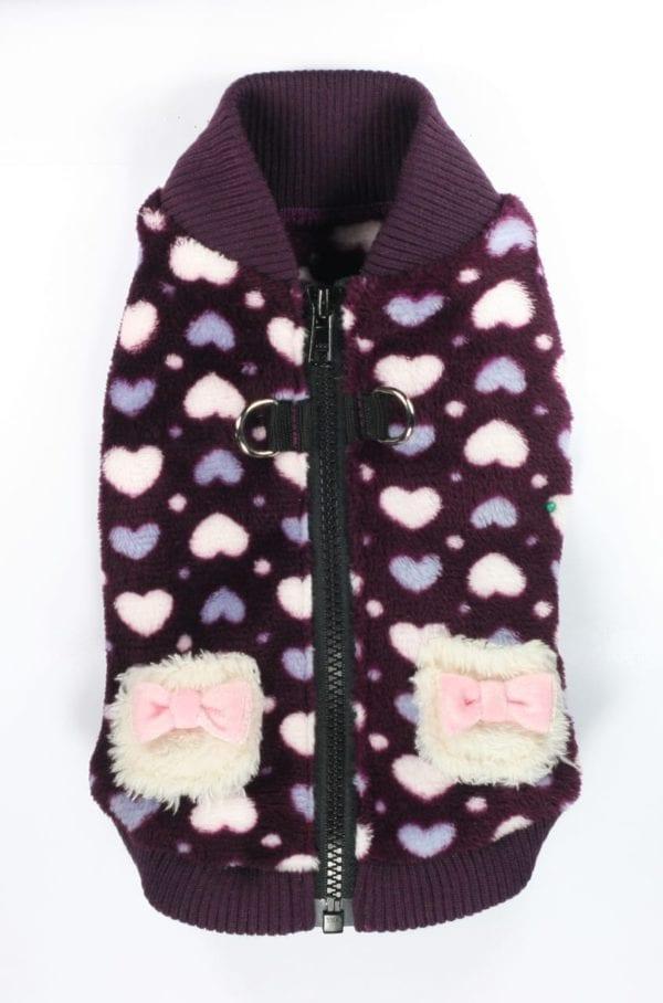 Hip Doggie Purple Heart Vest