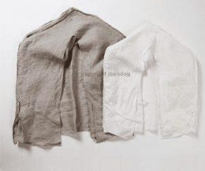 White Linen Peekaboo Frame Cover