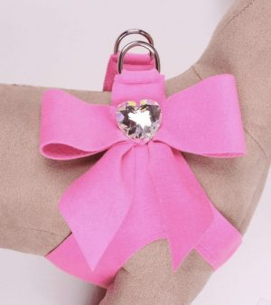 Tail Bow Heart Step in Harness by Susan Lanci