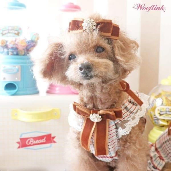 plaid mini dress by louisdog