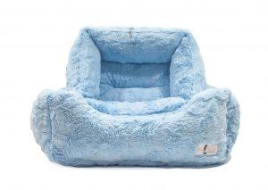 Hello Doggie Baby Blue Bella Bed