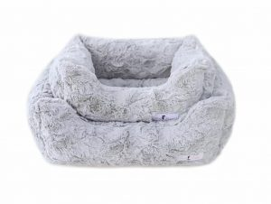 Hello Doggie Silver Bella Bed