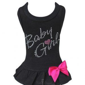 baby girl dress in black