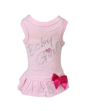 baby girl dress in pink