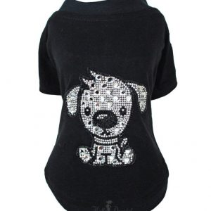 doggie rhinestone tee by hello doggie
