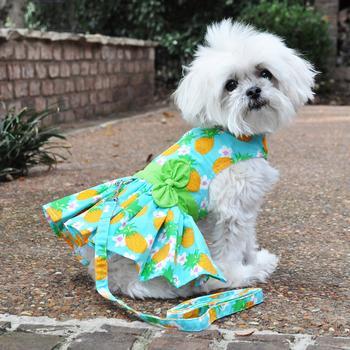 Pineapple Luau Dog Dress