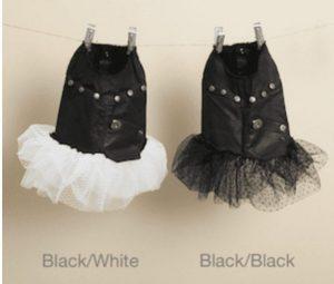 Studded Couture Tutu Dress in Black