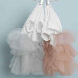 organic tulle dress by Louisdog