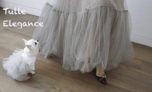 organic tulle dress by Louisdog