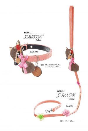 bambi leash and collar