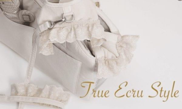 ecru linen harness by louisdog