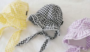 Cute Check Hat by Puppy Angel