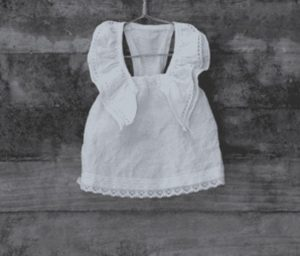 Linen Swing Dress by Louisodog