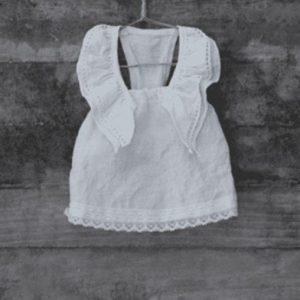 Linen Swing Dress by Louisodog
