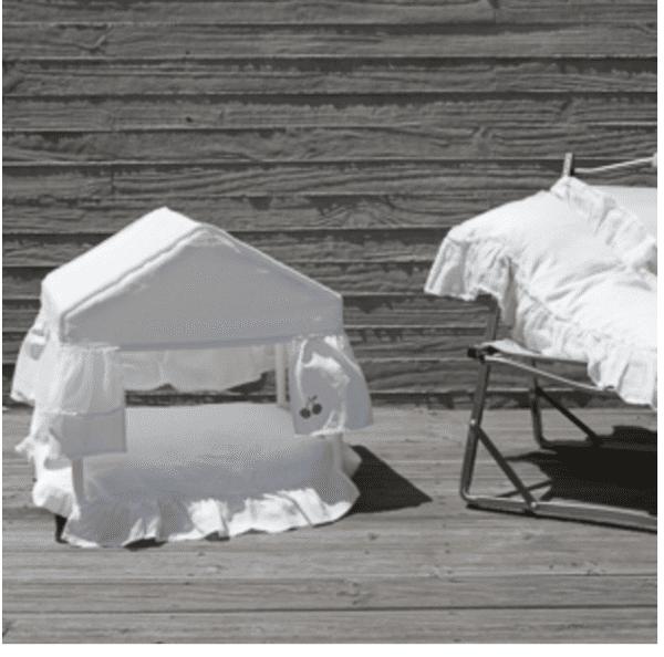 Peekaboo White Cabana