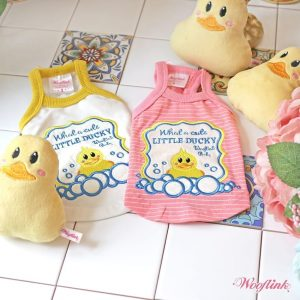Cute Little Ducky Top by Wooflink