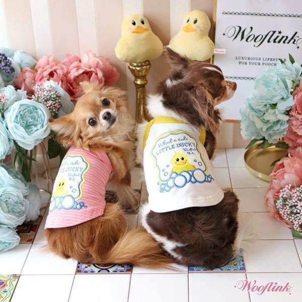 Cute Little Ducky Top by Wooflink
