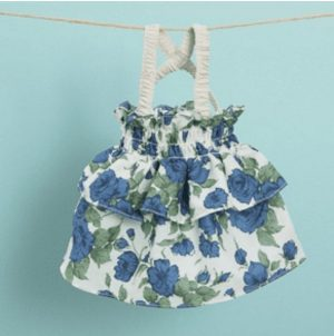 liberty sun dress by louisdog in blue
