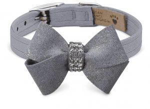 glitzerati nouveau bow collar