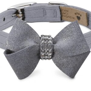 glitzerati nouveau bow collar
