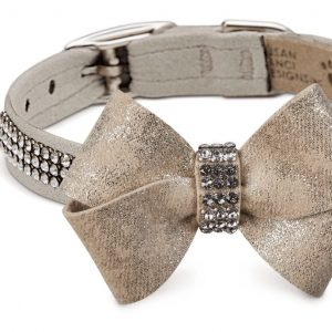 Glitzerati Nouveau 3 Row Giltmore Bow Collar