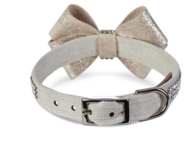 Glitzerati Nouveau 3 Row Giltmore Bow Collar