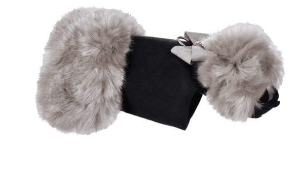 Glitzerati Silver Fox Coat