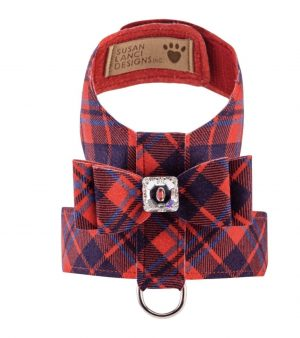 chestnut plaid scotty tinkie harness
