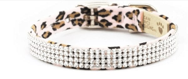 4 Row Cheetah Giltmore Collar