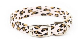 4 Row Cheetah Giltmore Collar