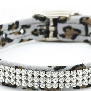 3 Row Giltmore Cheetah Collar