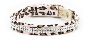 2 Row Giltmore Cheetah Collar